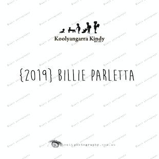 {2019} BILLIE PARLETTA