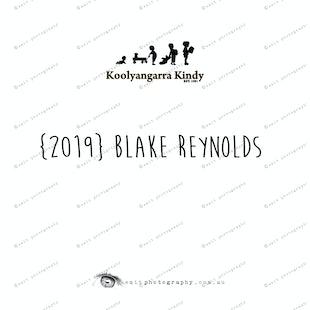 {2019} BLAKE REYNOLDS
