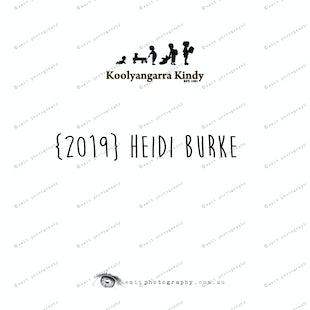 {2019} HEIDI BURKE