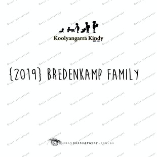 {2019} BREDENKAMP FAMILY