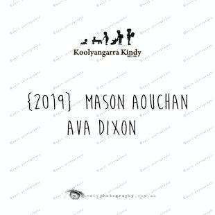 {2019} MASON AOUCHAN  AVA DIXON