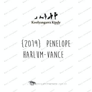 {2019} PENELOPE HARLUM-VANCE