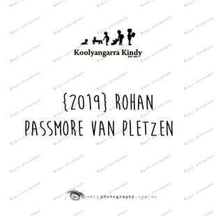 {2019} ROHAN PASSMORE VAN PLETZEN