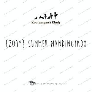 {2019} SUMMER MANDINGIADO