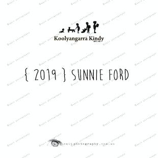 { 2019 } SUNNIE FORD
