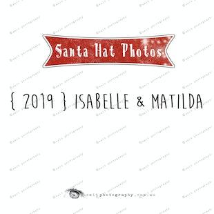 {2019} Santa Hat Photos