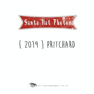 {2019} Santa Hat Photos - Pritchard
