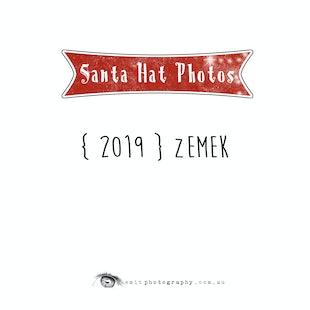 {2019} Santa Hat Photos - Zemek