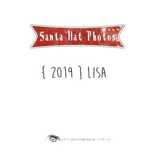 {2019} Santa Hat Photos - Lisa