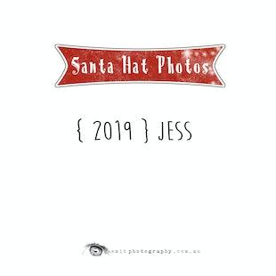 {2019} Santa Hat Photos - Jess