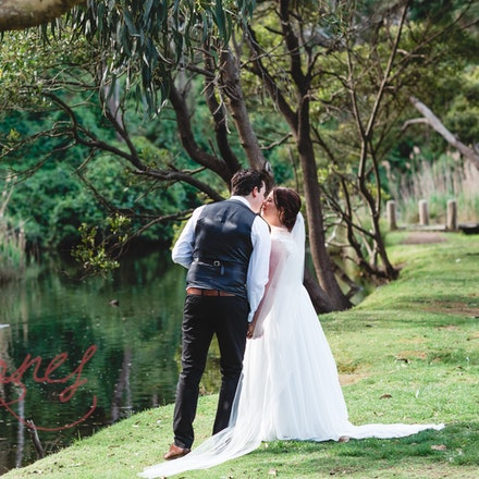 Julia and Jarrad - Wye River Wedding