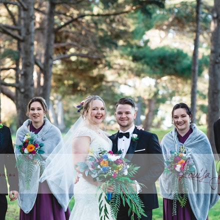 Mel and Rob - Geelong Winter wedding