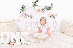 ❤️ Miss Maddie - 1st Birthday CakeSmash ❤️