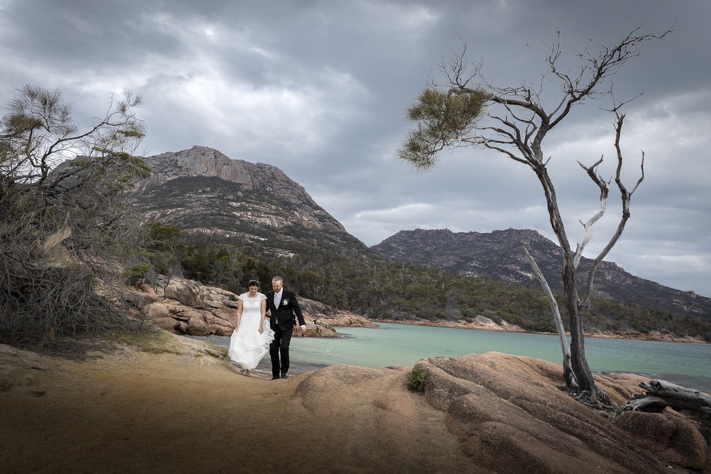 freycinet wedding elopement east coast tasmania-350 - photo by Enright Photography (www.enrightphotography.com.au)