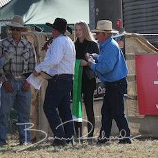 Open Saddle Bronc Buckle Presentation - Cameron Webster