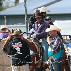 Steer Wrestling Buckle Presentation - Gavin Walker