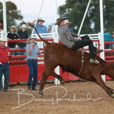 Charity Fundraiser Steer Ride Shootout