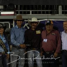 Open Bull Ride - Buckle Presentation 2018
