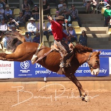2nd Div Saddle Bronc - Saturday - Sect 3