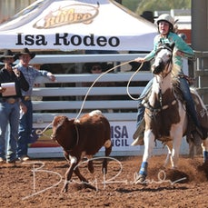 Junior Breakaway Roping - Saturday - Sect 3