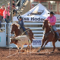 Junior Team Roping - Thursday - Sect 1