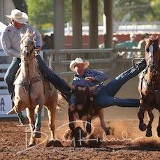Steer Wrestling - Thursday - Sect 1