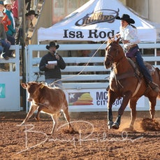 Breakaway Roping - Thursday - Sect 1
