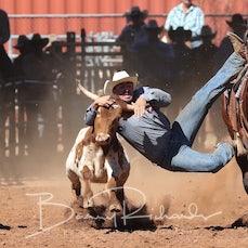 Steer Wrestling - Friday - Sect 2