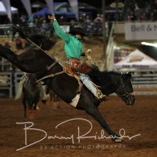 Open Saddle Bronc - Saturday -  Sect 3