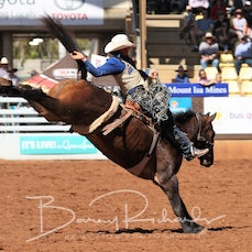 Open Saddle Bronc - Saturday -  Sect 2