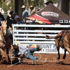 Steer Wrestling - Saturday - Round 2 - Sect 1
