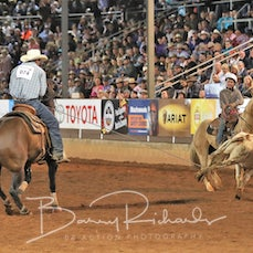 Team Roping - Saturday - Round 2 - Sect 3