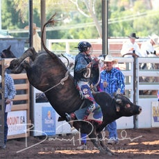 Junior Bull Ride Final - Saturday