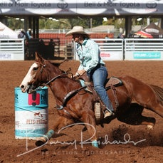 Open Barrel Race - Saturday -  Round 2 - Sect 1