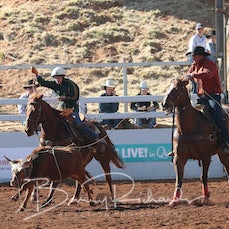 Junior Team Roping - Saturday - Sect 3