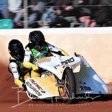 Event 9 - Sidecar Legends - Darryl Twitt Motor Group - Heat 4