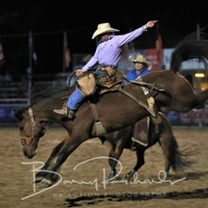 Rd 2 Open Saddle Bronc - Sect 2