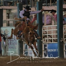 Rd 3 Open Saddle Bronc - Sect 1