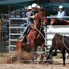 Junior Breakaway Roping - Sunday - Sect 2