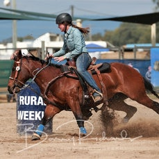 Junior Barrel Race - Sunday - Sect 2