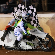 Cleave-Power Junior Sidecar Cup - Winners Victory Lap