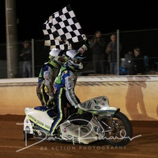 Cleave-Power Sidecar Legends - Winners Victory Lap