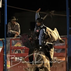Myrtleford Rodeo 2018 - Open Bull Ride - $3000 Winner Take All