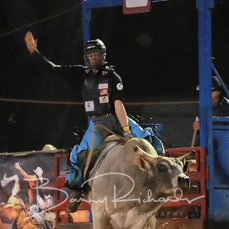 Myrtleford Rodeo 2018 - 2nd Div Bull Ride - $1500 Winner Take All