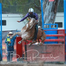 Myrtleford Rodeo 2018 - 2nd Div Bull Ride - Sect 2