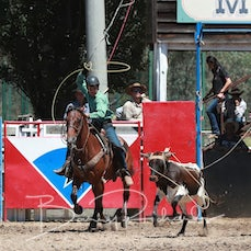 Myrtleford 2018 Team Roping - Slack 1