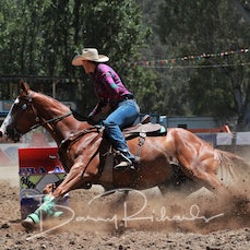 Myrtleford 2018 Open Barrel Race - Slack 1