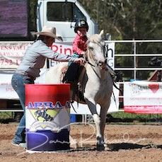 Myrtleford Rodeo 2018 - Junior Barrel Race - Sect 1