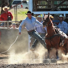 Myrtleford Rodeo 2018 - Rope & Tie - Sect 1
