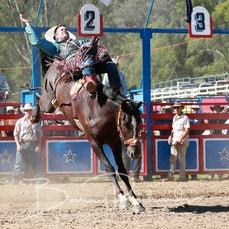 Myrtleford Rodeo 2018 - 2nd Div Bareback - Sect 1